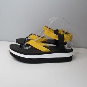 Teva Flatform Sandal Persimmon Platform Sandals